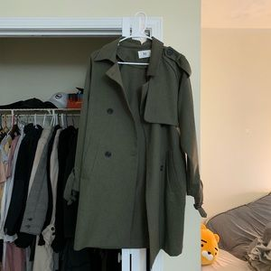 Jackets & Blazers - Imvely trench coat khaki